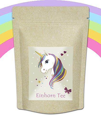 Quertee - 'Einhorn Tee' fruchtig süßer Einhorntrank für Einhorn Fans - 70 g Loser Tee -...