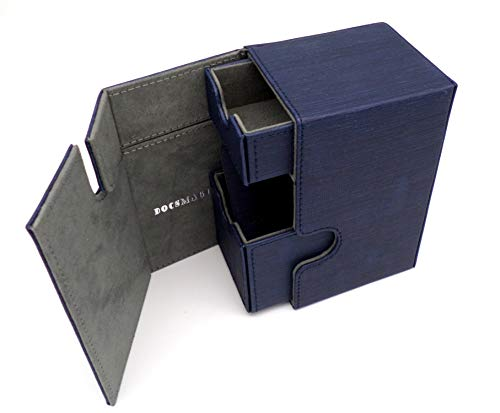 docsmagic.de Premium Magnetic Tray Box (100) Blue