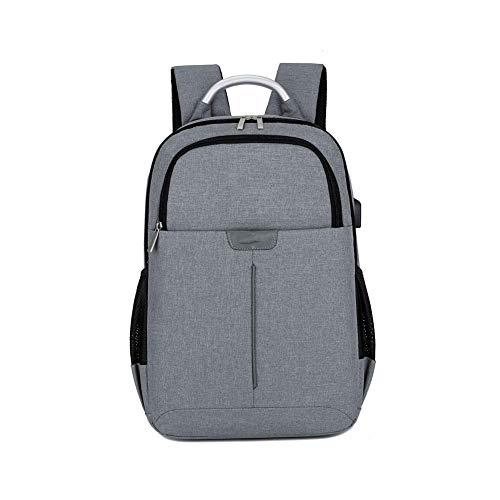 YEXIN Laptop-Rucksack, wasserdichter Business-Laptop-Rucksack mit USB-Ladeanschluss, Diebstahlschutz-Schultasche Business-Reiserucksack Backpack Für 15,6-Zoll-Laptop und Notebook