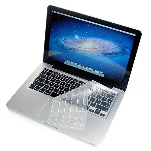 taturschutz Deutsche Tastatur Silikon Schutz Abdeckung Thin Clear Keyboard Cover Skin für MacBook für Old MacBook Pro 13 15 17 ()