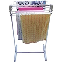 THEE Mini Foldable Laundry Drying Rack Clothes Airer Towel Hanger