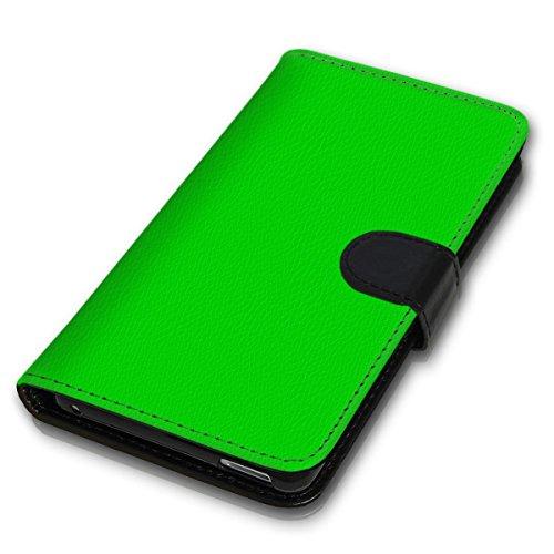 Wallet Book Style Flip Handy Tasche Case Schutz Hülle Schale Motiv Etui für Apple iPhone 4 / 4S - Variante UMV9 Design12 Design 7