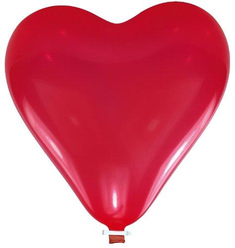 Riethmüller 6457 - palloncino cuore gigante, circa 60 cm