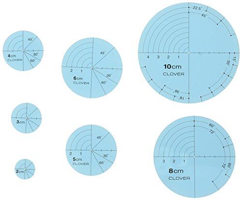 Clover CL57-894 Kreisschablonen für Runde Quiltlinien