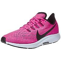 Nike WMNS NIKE AIR ZOOM PEGASUS 36, Women's Women Road Running Shoes, Blue (Hyper Pink/Black-Half Blue 600), 5.5 UK (39 EU)