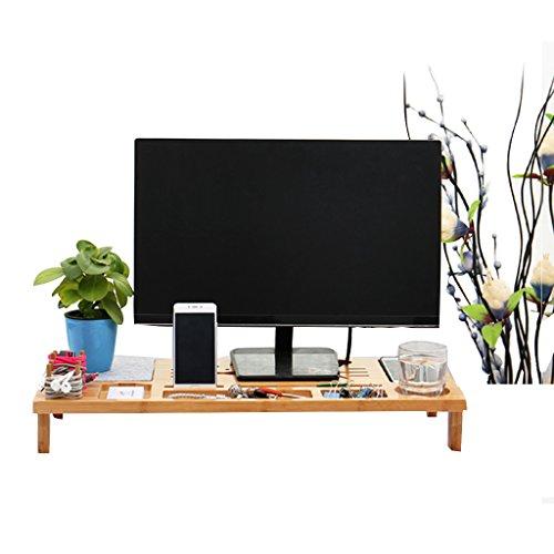 MEI XU Multifunktions-Laptop-Tisch, Bett mit einem kleinen Tisch Schlafsäle, einfache tragbare, Bambus-Student Computer Desk, geschnitzte Fan Hot, Storage Storage Computer Schreibtisch, 66cm * 29cm * 9cm @