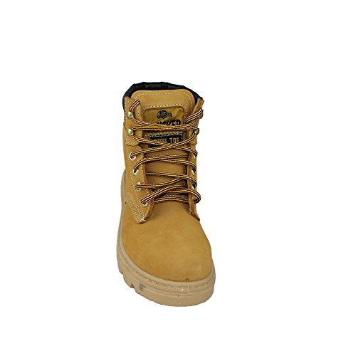 Aimont trucker s3 chaussures de travail chaussures chaussures berufsschuhe businessschuhe beige Beige - Beige