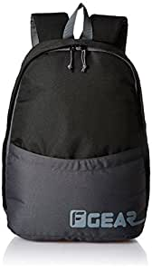 F Gear Saviour 19 Ltrs Black Grey Backpack