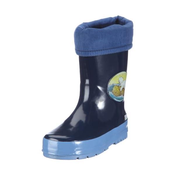 Beck 469 Dunkelblau – Botas de Caucho para niños