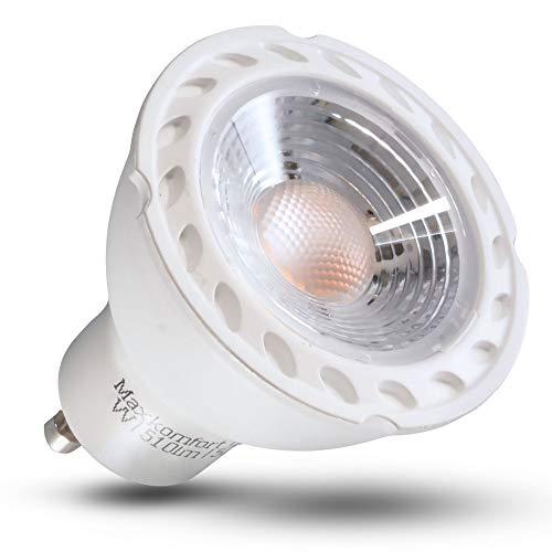 GU10 LED Lampe 7W 10x SET Glühbirne neutralweiß 630 Lumen MR16 nicht Dimmbar -