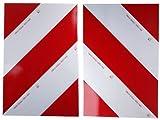WAMO 2 x Warnfolie 423 x 282 mm DIN11030 Links und rechts