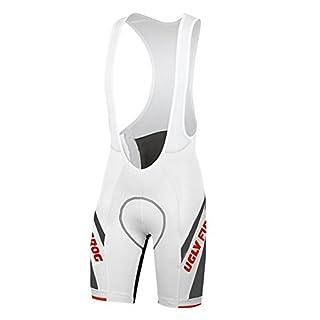 Uglyfrog Rad-Trägerhose Radlerhose Radhose Fahrrad Hose Reflektoren Gemütlich Coolmax Pro-Air 3D Sitzpolster - Kurze Hosen