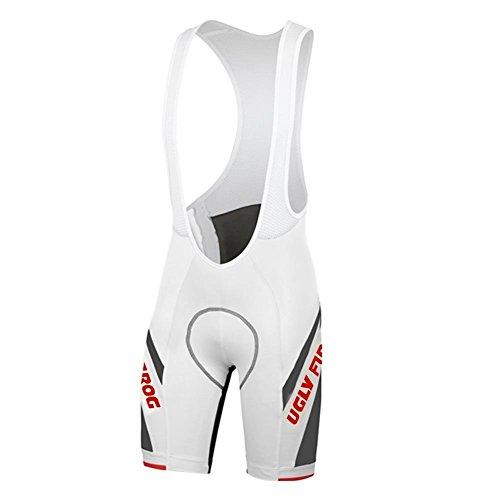 Uglyfrog+ Radsport Trägerhose Fahrradhosen Radlerhose Radhose Bib Shorts Gemütlich Coolmax Pro-Air 3D Sitzpolster - Kurze Hosen