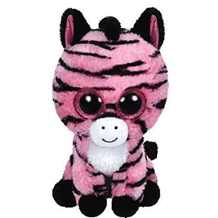Preisvergleich Produktbild Ty Beanie Boo Plush Stuffed Animal Zoey - Pink & Black Zebra 6' by Kimougha