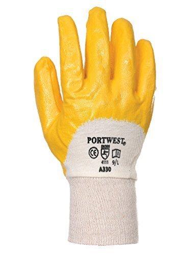 6 Paires Nitrile Gants de travail avec Confédération knitting CE zertifiziert- EN 420- EN388 - 36
