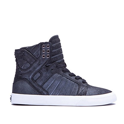 Supra Skytop, Baskets mode femme - Black / metallic - white