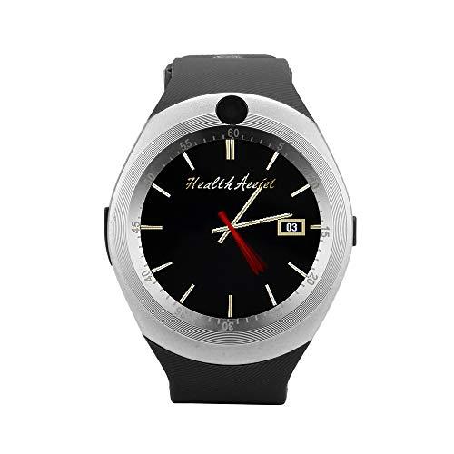 JiaMeng Smartwatches - 2019 Bluetooth Smart Watch Phone Mate pieno schermo SIM fotocamera per Android Smart watch argento