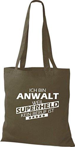 Tote Bag Shirtstown Sono Un Avvocato Perché Il Supereroe Non È Una Professione Doliva