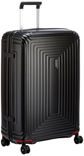 Samsonite Neopulse Spinner Suitcase, 75 cm, 94 L, Schwarz (Matte Black) -