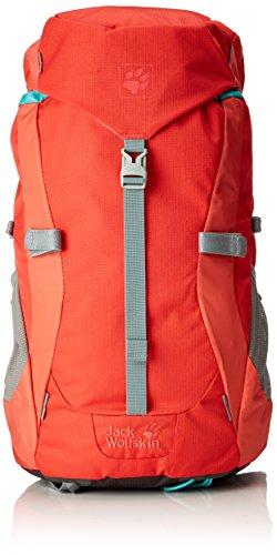 Jack Wolfskin Mädchen Kids Alpine Trial Backpack, Sample Hibiscus Red, 52 x 26 x 24 cm