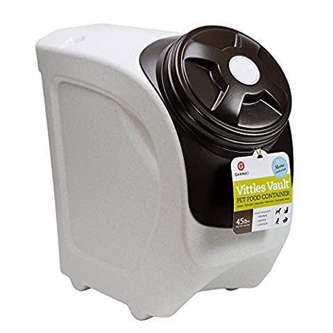 Gamma Vittles Vault Home Collection Containers For Pet Food Stackable 45lb Plus