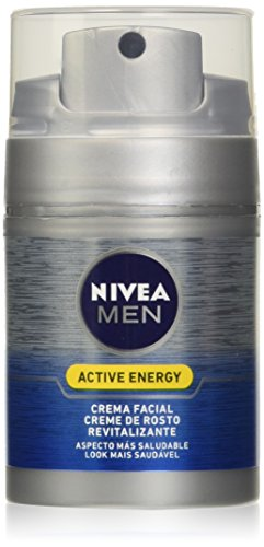 NIVEA Men Skin Energy Q10 Hidratante 50 ml, 1 Stück
