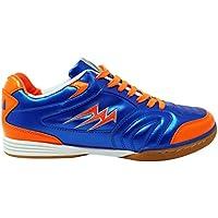 Agla F/40 Scarpe Da Futsal Indoor, Blu/Arancione, 26.5 cm/42