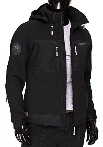 BOLF - Veste à capuche – FREESTEP 2139 - Homme Noir