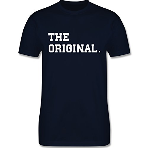 Shirtracer Partner-Look Familie Papa - The Original The Remix Eltern - Herren T-Shirt Rundhals Navy Blau