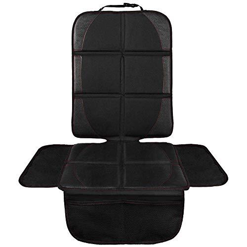 TOPERSUN Autositzauflage Autositzschutz Wasserdichter Kindersitzunterlage zum Schutz der Lederausstattung des rutschfesten Fahrzeugs Leicht zu reinigen und zu sichern