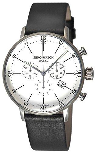 Zeno-Watch Herrenuhr - Bauhaus Chronograph Quartz - 91167-5030Q-i2