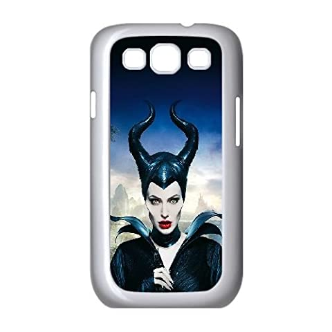 Samsung Galaxy S3 9300 Cell Phone Case White ha30 angelina jolie maleficent poster disney face SLI_770747