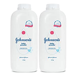 Johnson's Baby Powder 400g (Pack of 2)