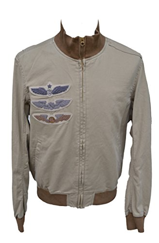 Ralph Lauren - Denim & Supply - Bomberjacke Jacke Military Bomber Jacket Sand Beige (M)