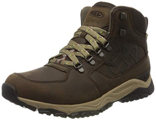 KEEN Root Brown, Botas de Senderismo para Hombre, Marrón Innate Leather Mid WP Ltd 1021807, 45 EU