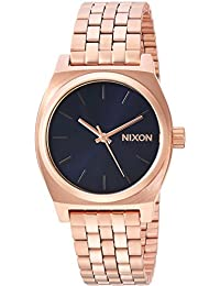 Nixon Women's 'Medium Time Teller' Quartz Stainless Steel Casual Watch, Color Rose Gold-Toned (Model: A11302763)
