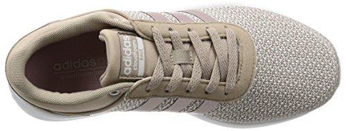 adidas Cloudfoam Race W, Sneaker Bas du Cou Femme Gris (Grivap/grmeva/ftwbla)