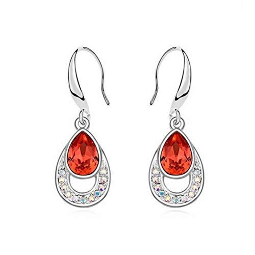 E-h orecchino dangler eardrop orecchini con perno orecchini con cristalli orecchini retro personalità orecchini con diamanti orecchini donna per le donne