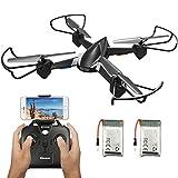 EACHINE Drone avec caméra E32HW FPV WiFi caméra 720P HD, Drone résiste au Vent...