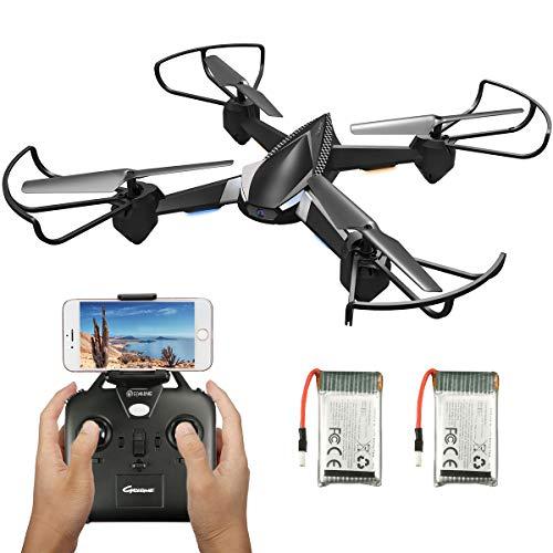 EACHINE E32HW Drone con HD cámara 720p 2.0MP Drone Cámara WiFi FPV App Control Modo sin Cabeza Quadcopter (Negro) ...
