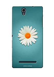 Sowing Happiness Printed Back Cover For Sony Xperia C3 Dual