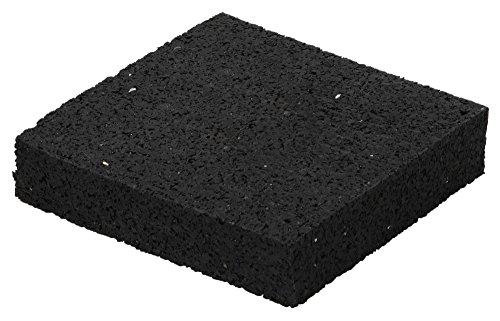 Schössmetall terrassenpads Terraza Diseño granulado de goma 90x 90x 20mm, 12unidades)