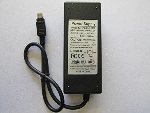 12V 2A 5V 2000mA GND 5Pin DIN AC-DC-Power Adapter für Wattac ba0362zi-8-a01 - Kunden-service-telefon-nummer