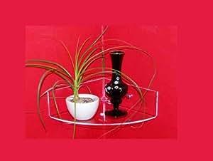 wandboard eckboard radius 15 cm aus 4 mm acrylglas incl zubeh r k che haushalt. Black Bedroom Furniture Sets. Home Design Ideas