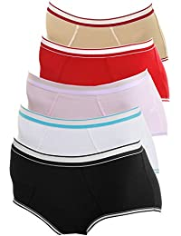 Girls Panty Boxer Slip 6er Pack Stretch Baumwolle Farbmix