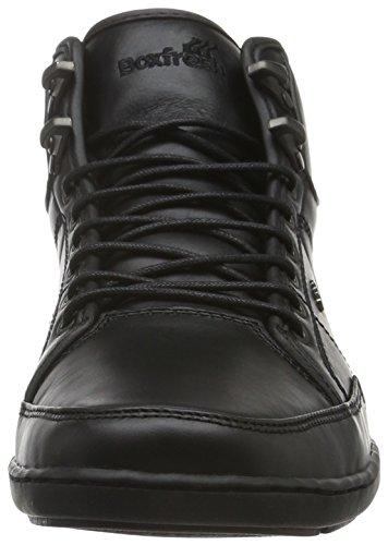 Boxfresh - Swapp Prem Blok Uh Lea, Scarpe da ginnastica Uomo Nero (Schwarz (Black/Black))