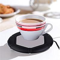 Preisvergleich für Gugutogo Desktop Tee Kaffeetasse Becher Pad USB Wärmer Matte Heizung USB Wärme Erhaltung Matte Warm Halten Heißes...