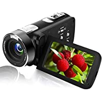 Camcorder Video Camera Full HD 1080P 24.0MP Digital Camera Camcorders Night Vision with Remote Controller