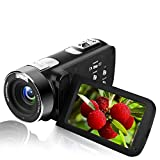 Videocamera FULL HD 1080P Digital Camera con Telecamera IR Night Vision...