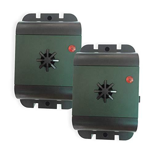 ISOTRONIC dispositivi di allontanamento uccelli colomba a batteria a ultrasuoni saccia piccioni...